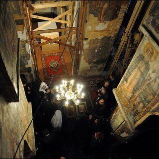 Спасо-Ефросиньевский монастырь внутри