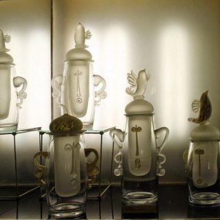 Графины Неманского стеклозавода
